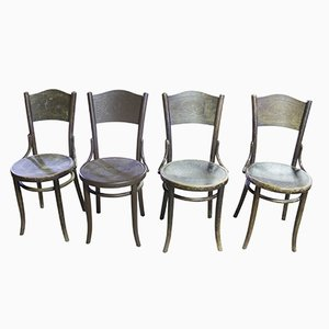 Mundus Chairs from Thonet, 1920s, Set of 4