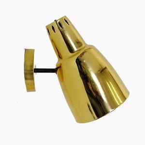 Large Vintage Golden Wall Lamp