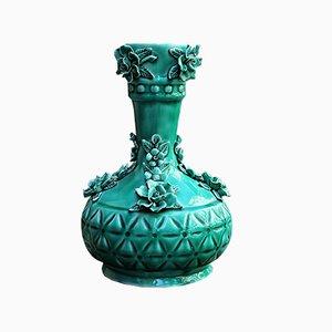 Spanish Ceramic Vase from Manises, 1960s