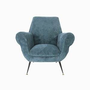 Italian Armchair by Gigi Radice for Minotti, 1950s
