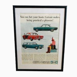 Pubblicità Chevrolet Mid-Century, anni '60