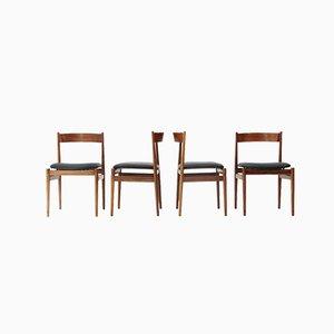 Chaises de Salle à Manger Modèle 101 par Gianfranco Frattini pour Cassina, Italie, 1950s, Set de 4