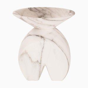 Iris Vase aus Marmor von Valentina Camernesi