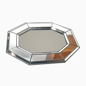 Vintage Honeycomb Wall Mirror, 1980s
