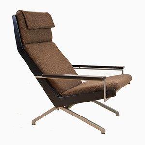 Armlehnstuhl aus Stoff, Metall & Holz von Rob Parry für De Ster Gelderland, 1960er
