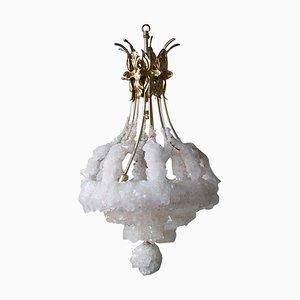 Kronleuchter mit überwucherndem Kristallglas von Mark Sturkenboom