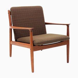 Skandinavischer Sessel von Grete Jalk für Glostrup, 1950er