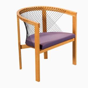 Skandinavischer moderner Beistellstuhl von Niels Jørgen Haugesen für Tranekær Furniture, 1970er