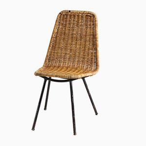 Vintage Wicker Garden Chair, 1970s