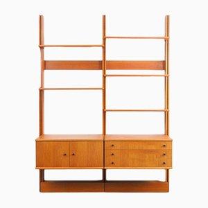 Teak and Veneer Shelf from WK Möbel, 1960s