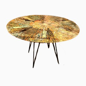 Italian Painted Table by Decalage for Cumino & C. Torino, 1956