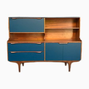 Mid-Century Teak S-Form Sideboard from Sutcliffe's of Todmorden, 1960s