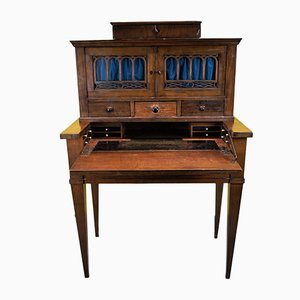 19th-Century Oak Secretaire