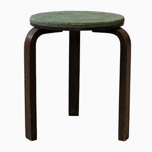 Modernist Finnish Birch Stool by Alvar Aalto for Artek, 1930s