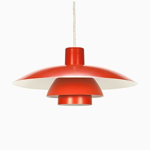 Orange PH 4/3 Pendant Lamp by Poul Henningsen for Louis Poulsen, 1960s