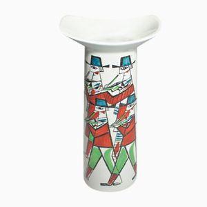 Vase Polka en Céramique par Carl-Harry Stålhane pour Rörstrand, 1950s