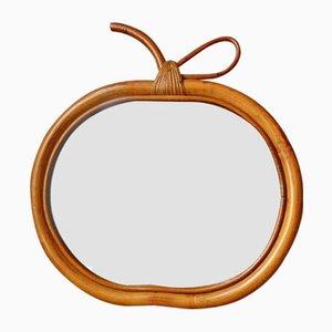 Specchio Apple Mid-Century, anni '60
