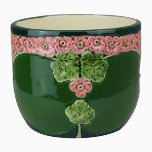 Cuenco antiguo de cerámica de Eichwald Keramik, década del 1900