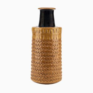 Italian Vase by Aldo Londi for Bitossi, 1970s