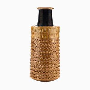 Italian Vase by Aldo Londi for Bitossi, 1970s