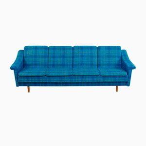Vintage Danish Fabric Sofa, 1970s