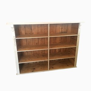 Antique German Fir Bookcase