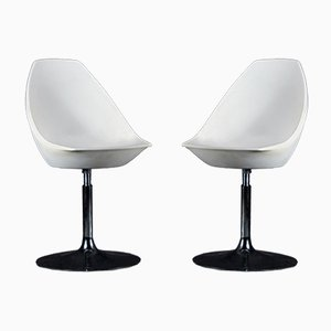Vintage ICE Swivel Chairs by Roberto Foschia for MIDJ, Set of 2