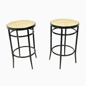 Chaises de Bar en Métal de Modulo, Set de 2