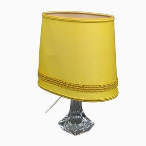 Lampada da tavolo Mid-Century in vetro di Daum, Francia, anni '60