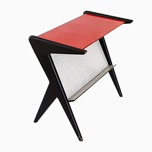 Wood & Formica Side Table, 1950s