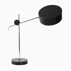 Mid-Century French Steel Table Lamp, 1960s