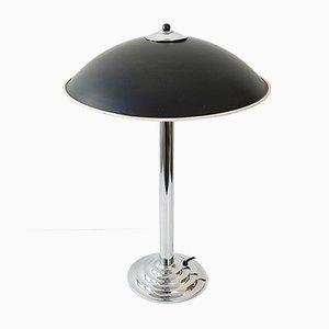 Lámpara de mesa Mid-Century de acero, años 60