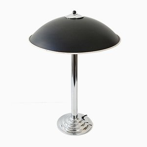 Mid-Century Steel Table Lamp, 1960s