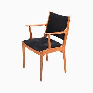 Chaise de Bureau en Teck par Johannes Andersen pour Uldum Møbelfabrik, 1960s