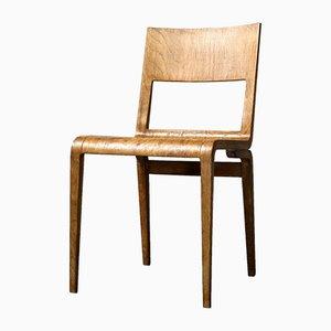 Chaise d'Appoint 5064 Mid-Century par Erich Menzel pour VEB Deutsche Werkstätten Hellerau, Allemagne