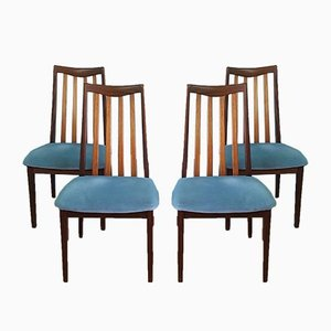 Teak Dining Chairs from G-Plan, 1970s, Set of 4