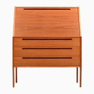 Danish Teak Secretaire by Nils Jonsson for HJN Mobler, 1960s