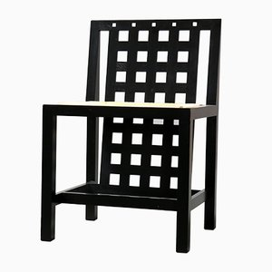 Art Deco Model 324 Side Chair by Charles Rennie Mackintosh for Cassina, 1970s