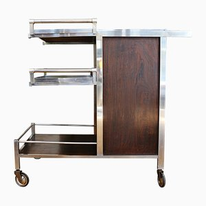 Art Deco French Trolley by Jacques Adnet, 1930s