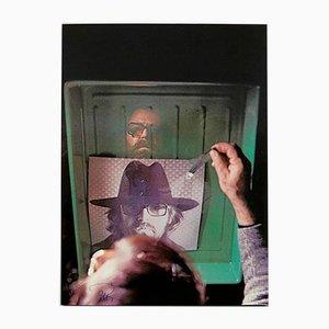 Fotolitografía L 'Aquario de Michelangelo Pistoletto, años 70
