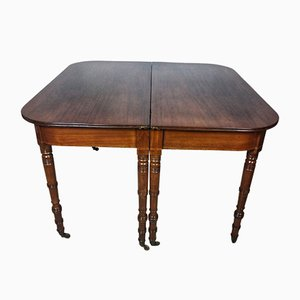 19th Century Regency Mahogany Dining Table