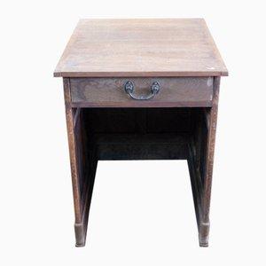 Italienischer Vintage Schreibtisch aus Kastanienholz, 1920er