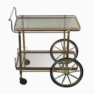 Mid-Century French Metal and Plastic Trolley, 1960s