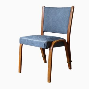 Vintage French Ash Dining Chair by Hugues Steiner for Steiner, 1960s