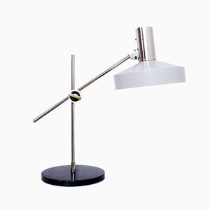 Model 6929 Metal and Steel Bar Table Lamp from Kaiser Idell/Kaiser Leuchten, 1960s