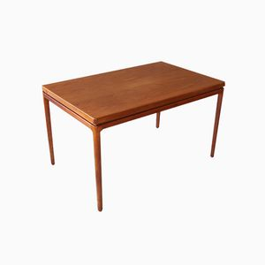 Danish Teak Dining Table by Johannes Andersen for Christian Linneberg, 1960s