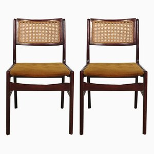 Portuguese Chairs by Cruz DE Carvalho for Interforma, 1970s, Set of 2