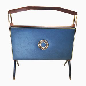 Vintage Italian Folding Magazine Rack by Ico Parisi, 1950s