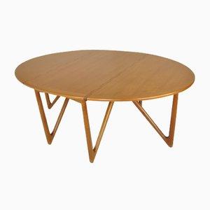 Table de Salle à Manger Scandinave en Teck par Kurt Østervig pour Jason Møbler, 1950s