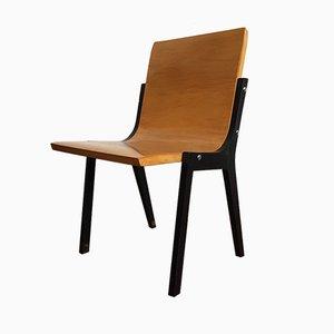 Beistellstuhl aus Birke & Schichtholz von Roland Rainer für Emil & Alfred Pollak, 1950er